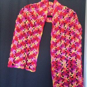 Accessories - Shawl, light weight, hand crocheted, women's